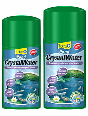 Tetra Pond CrystalWater Clear Cloudy Dirty Brown Water