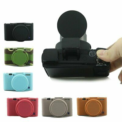 Soft Camera Case For Sony RX100 III IV V Rubber Protective Body Cover bag Skin