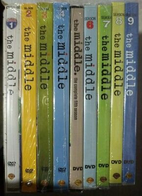 The Middle Complete Series Seasons 1-9 (27 Disc DVD Set) 1 2 3 4 5 6 7 8 9
