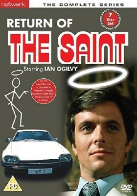 Return Of The Saint - The Complete Series    7-Disc Set            Fast  Post