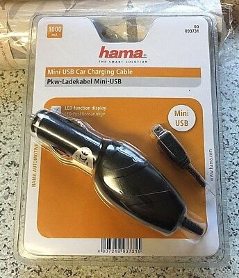 *** Hama - Mini USB Car Charging Cable - New & Sealed ***