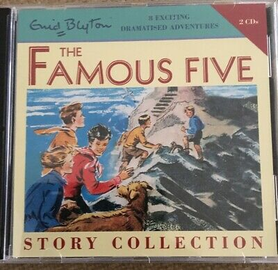 Enid Blyton Famous Five Story Collection Audio CDs - 8 Dramatised Adventures VGC