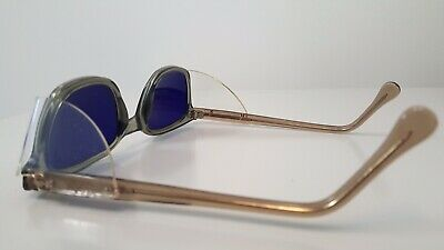 A.O. Cobalt Weld/Safety GlassesBuddy Holly style..N.O.S.