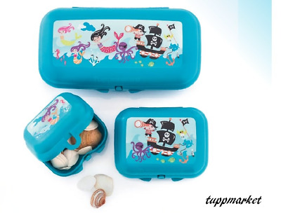 TUPPERWARE Pirates Oyster Trio Set 3 x Storage Boxes Special Offer