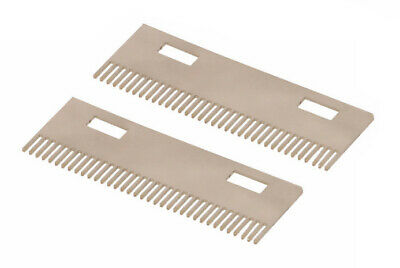 2 combs for ST-70 0.8 mm Tobacco leaf cutting machine - Cutting 0.8 mm