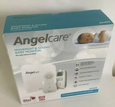 Angelcare AC403 Movement & Sound Baby Monitor Brand New