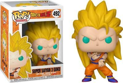Dragon Ball Z #492 - Super Saiyan 3 Goku - Funko Pop! Animation - Brand New