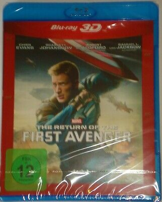 The Return of the First Avenger 3D    Blu Ray  Marvel NEU OVP