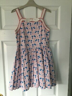Girls M&S Summer Dress Age 9-10 yrs . Gorgeous Dress - Excellent Condition