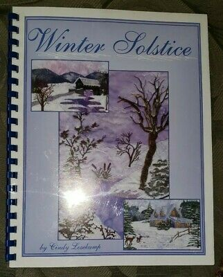 Winter Solstice Sew Artfully Yours Book With 127 Design Cd