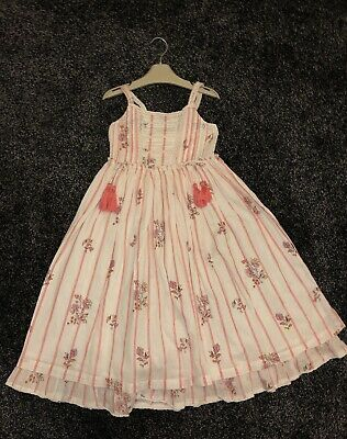 Next Girls Maxi Dress Size 5 Years Pre Owned