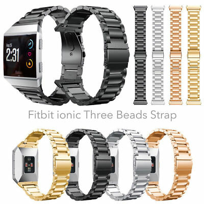 Stainless Steel Bracelet For Fitbit ionic Band Watch Metal Wrist Band Strap