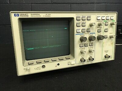 HP 54600A Agilent Oscilloscope 2 Channel 100 MHz. CdSl