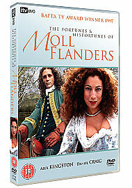 The Fortunes And Misfortunes Of Moll Flanders Daniel Craig ITV UK 2009 DVD NEW