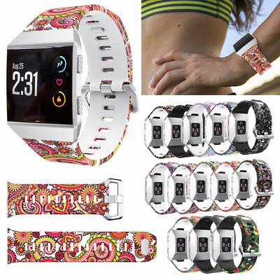 For Fitbit Ionic Band Smartwatch Sport Silicone Strap Wrist Band Fitness Band