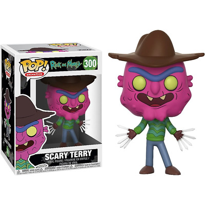 Rick and Morty #300 - Scary Terry - Funko Pop! Animation (Brand New)