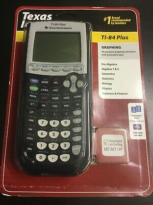 Texas Instruments Ti-84 Plus Graphing Calculator New #2120