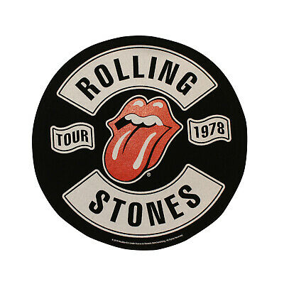 3904f79fd4f Large The Rolling Stones Sew On Back Patch - Tour Red Tongue Battle Jacket  Patch