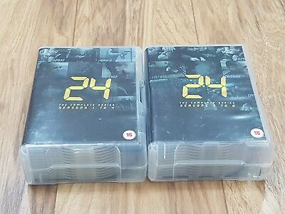 24 The Complete Series/Seasons 1-8 DVD Boxsets - Very Good Condition!