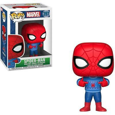 Marvel Spider-Man #397 - Spider-Man with Ugly Sweater - Funko Pop! Marvel