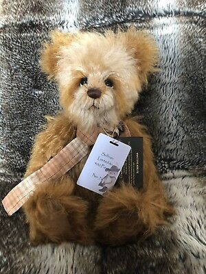 Bears 235 Bnwt+bag Charlie Bears 2015 Isabelle Collection Swatch Ltd Edition No