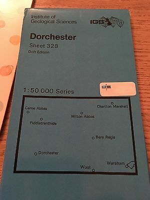 DORCHESTER INSTITUTE of GEOLOGICAL SCIENCES Map Sheet 328