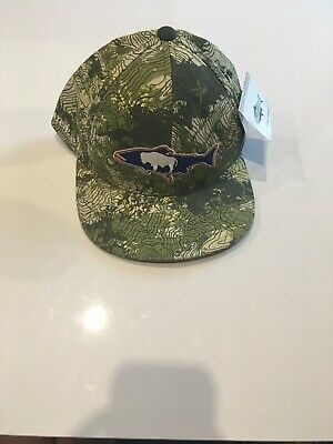 REP YOUR WATER Trout Flyfishing TopoCamo Trout Hat - $20 00