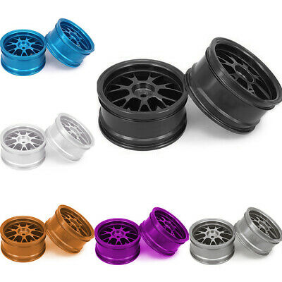 Aluminum Alloy Wheels Rims Spoke For 1:10 RC Parts 4pcs On-Road Convenient Hot