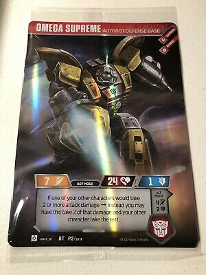 Omega Supreme Autobot Transformers Trading Card Game TCG Loot Crate Exclusive