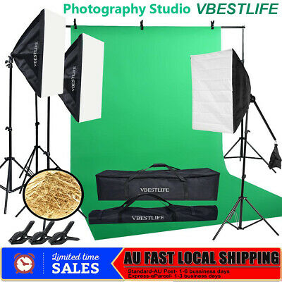 Photography Studio Heavy Duty Backdrop Stand Screen Background Holder Stand Kit