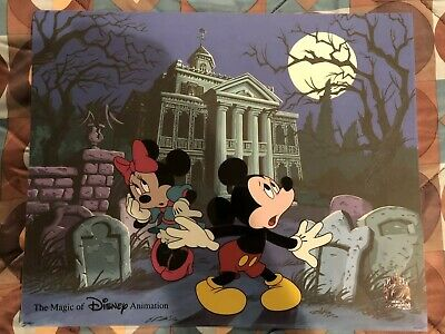 Disney Limited Edition Hand Painted Animation Cel Signed