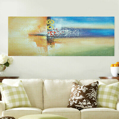 Abstract Canvas Hand Painted Oil Painting Modern Home Decor Wall Art Framed