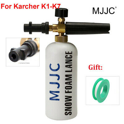 MJJC Snow Foam Lance Soap Bottle High Pressure Washers Gun Jet for Karcher K1-K7