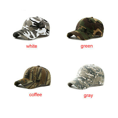 Outdoor Peaked Hunting Camouflage Jungle Summer Cap Baseball Female/Male