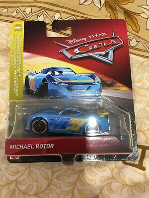 Disney Pixar's Cars 3 Next Gen Michael Rotor 1:55 Mattel Diecast Sealed