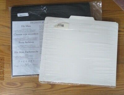 Creative Memories File Mate & 1 Package of 13 File Mate Folders -  New