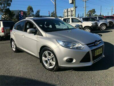 2013 Ford Focus LW MkII Trend Silver Automatic A Hatchback
