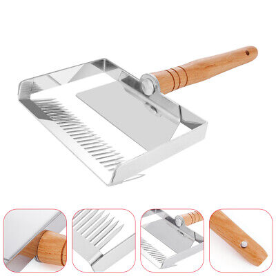 26 pins Uncapping Fork Iron Honeycomb Scraper Beekeeping Tool Agricultural Fork