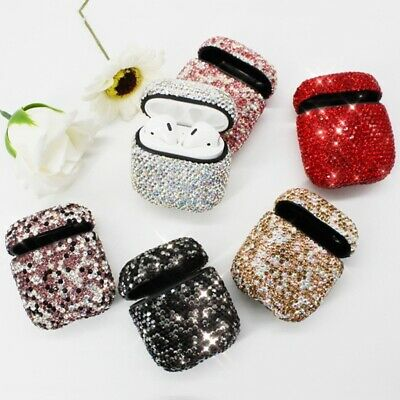 Luxury Artificial Diamonds Glitter Protective Shell Case Cover for Apple AirPods