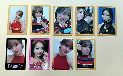 kpop Twice Fancy You 7th mini album OFFICIAL photocard  - Jihyo ver.