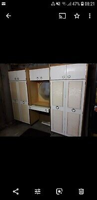 Schreiber wardrobe Dressing Table Unit 1970's Vintage