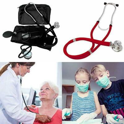 Medical Blood Pressure Sprague Stethoscope Kit Cuff Manual and Case Home Health