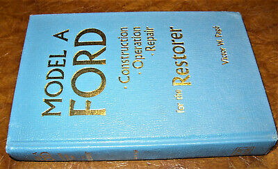 Ford Model A Repair Construction Operation 1928 1929 1930 1931 Murray Briggs