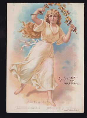 USA medical products advertising card circa 1910