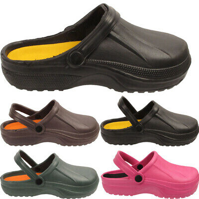 Mens Womens Garden Clogs Summer Mules Pool Work Holiday Sandals Shoes Size