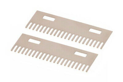 2 combs for ST-70 1.2 mm Tobacco leaf cutting machine - Cutting 1.2 mm