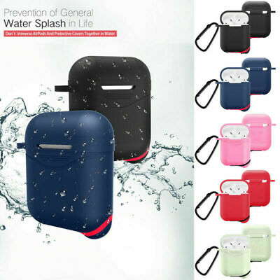 Shockproof For Apple Airpods case Cover Skin Anti Lost Strap Holder Airpod case