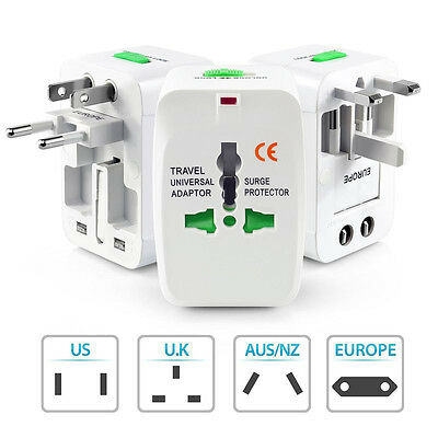 All-In-One Adaptador Universal Enchufe Para Cargador De Viaje Internacional