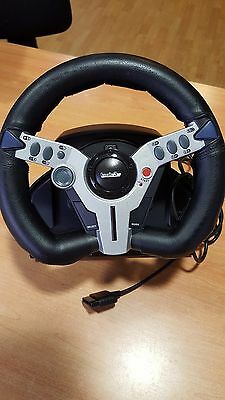 Volante Top Drive 2 Para Playstation (Steering Wheel Twin Vibration Motors)
