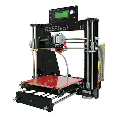GEEETECH UPDATED ACRYLIQUE Reprap Prusa I3 ProB 3D